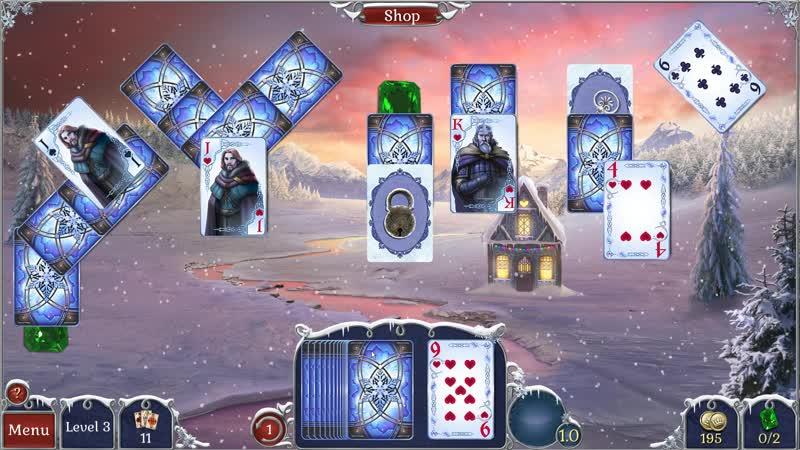 Jewel Match Solitaire: Winterscapes (Геймплей)