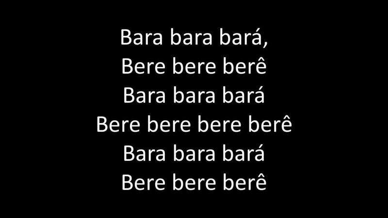 Alex Ferrari Bara Bará Bere Berê Official Lyrics Video HQ HD