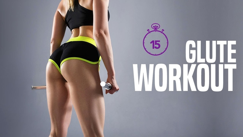 15 Minute GLUTES WORKOUT Glute SCIENCE Based Exercises