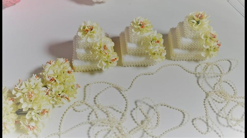 Бонбоньерки таросики тортики как их сделать супер просто✔ Marine DIY Guloyan✔