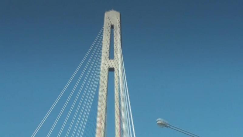 Мост на Русский остров Владивосток 2018 г