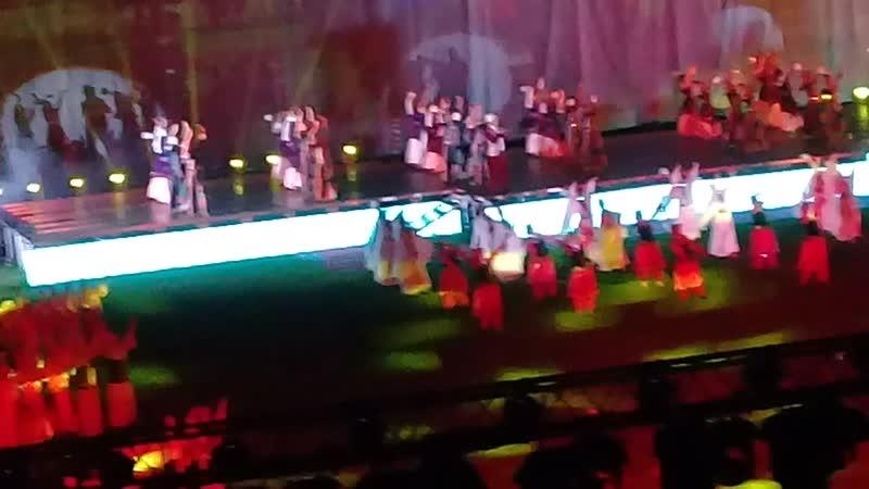 Фейерверк в конце концерта