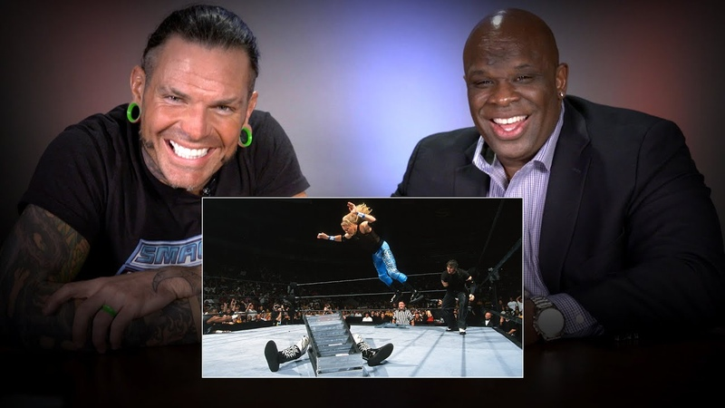 Jeff Hardy D Von Dudley rewatch their classic TLC Match WWE Playback