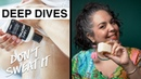 Lush Deep Dives Don't sweat it with aluminum free deodorants