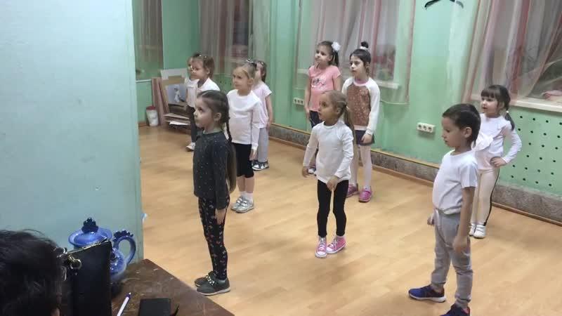 Катюша Репетиция Современный Танец декабрь 2018