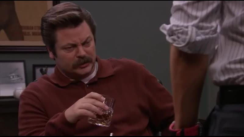 Parks and recreation |4x19| Рон