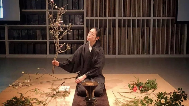 隱居寺廟10年,她成為日本國寶大師 Ten Year's Seclusion in a Temple, She Became a Japanese National Ikebana Master
