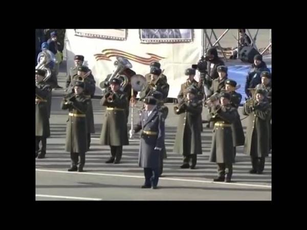 Два парада Куйбышев Самара 1941-2015