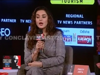 Bollywood actress @realpreityzinta shares her tryst with Mumbai underworld at ConclaveEast18. Listen in. - Full video of the ses