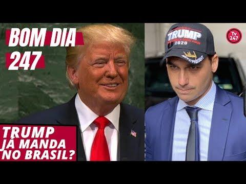 Bom dia 247 (28.11.18): Trump já manda no Brasil?
