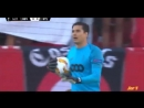 Guillermo Ochoa Atajadas/Parades/Saves Sevilla FC vs Standard Liege UEL