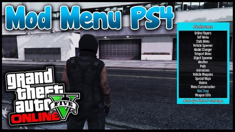 PS4 : GTA 5 МОД МЕНЮ (ТУТОРИАЛ И ССЫЛКА НА ВИДЕО ВНИЗУ) GTA 5 MOD MENU FOR PS4 (LINK AT THE BOTTOM)