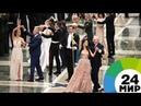 Лукашенко станцевал вальс с «Мисс Беларусь» на новогоднем балу - МИР 24