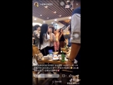 UNI.T Yoonjo, Suji, Jiwon, Euijin and UNB Euijin, Daewon @ KKS birthday party MBKs ceo