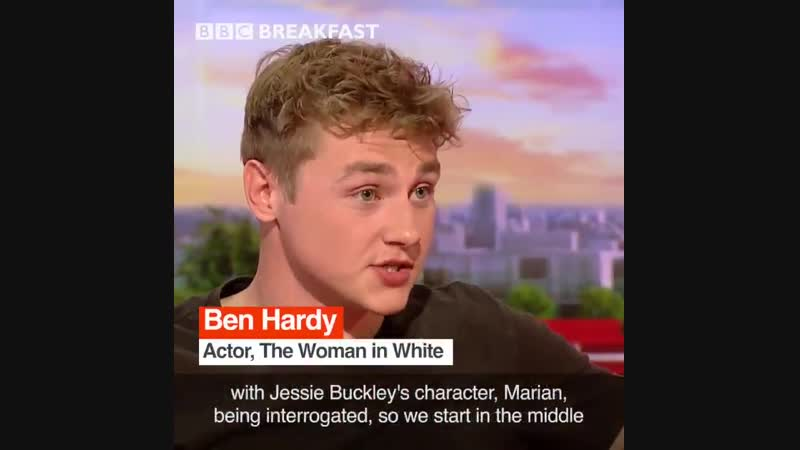 The Woman in White Ben Hardy and Olivia Vinall БЕН ХАРДИ BEN HARDY