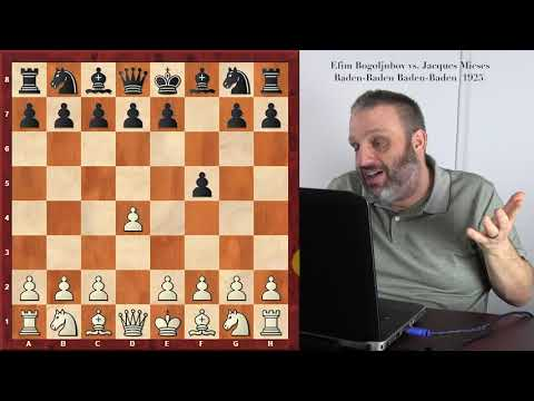 Efim Bogoljubov -- Great Players of the Past series, with GM Ben Finegold