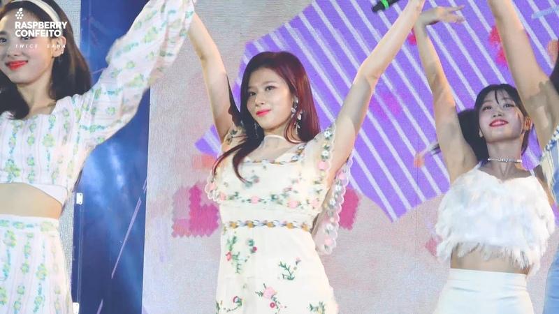 181201 Сана на MBC Music Kpop Concert в Гуаме