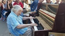 Amazing Old lady playing the piano in Russia - street performance - Part 2 - Hungarian Rhapsody no 2