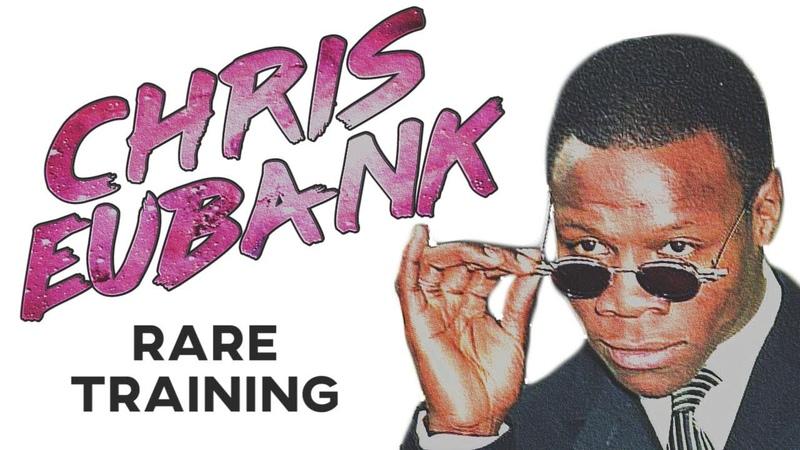 Chris Eubank Sr RARE Training In Prime