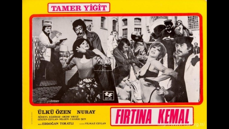 Firtina Kemal (1972)Tamer Yiğit __ Ülkü Özen _ Süheyl Eğriboz _ Nur Ay _ İsmail Hakkı ŞeN