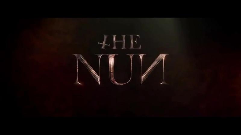 ТВ-ролик хоррора «Проклятие монахини»