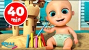 Сборник Песенки для детей: One Two More Kids Songs 😜 Loo Loo Kids на русском