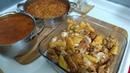 Pratik Akşam Yemeği Menüsü/Fırında Tavuk Kanadı Patates/Bulgur Pilavı/Şehriye Çorbası/Seval Mutfakta