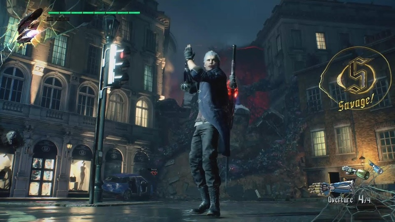 Devil May Cry 5 Demo - Nero Taunts