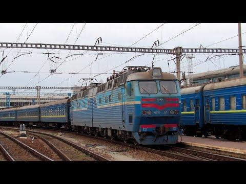 ZDSimulator - multiplayer. ЧС8-003 с поездом №132 по участку Киев - Конотоп.