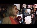 وقفة احتجاجية في جامعة حلب رفضاً للوجود ال1