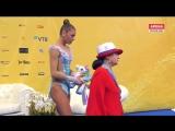 Александра Солдатова лента личное многоборье Чемпионат Мира София 2018