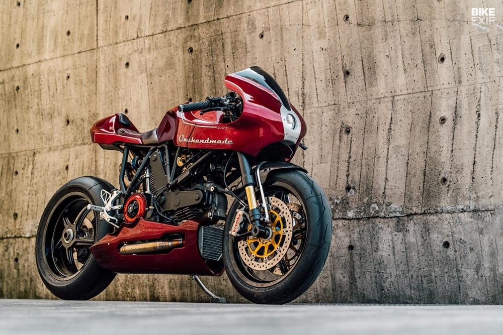 OneHandMade: нео кафе рейсер Ducati MH900E