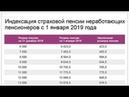 Почему в Январе 2019 года не Повысили Пенсию на 1 000 рублей?