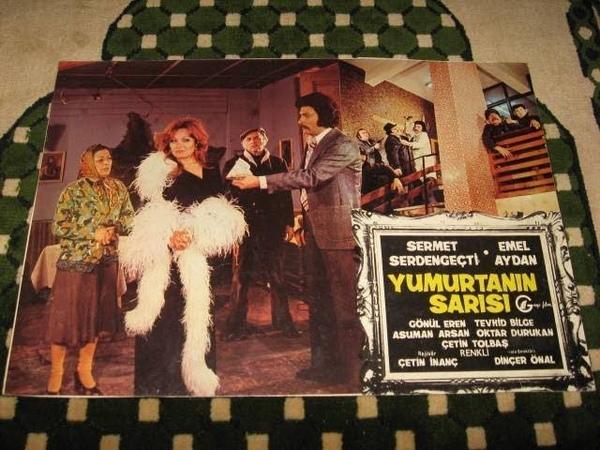 Yumurtanın Sarısı 1976 - Türk Filmi - Emel Aydan - Sermet Serdengeçti