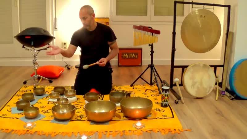 Concierto de Gong, Cuencos Tibetanos y Hang Drum, Centro MunAr