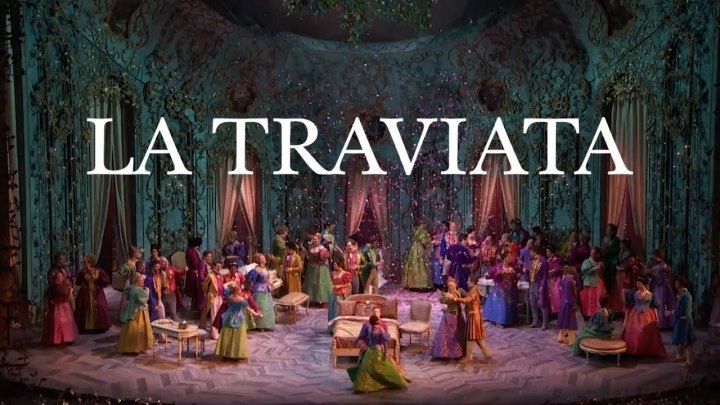 LA TRAVIATA DE DISNEY- Los primeros 05:28' del Acto I se perdieron siendo reemplazados por la versión de Paris 2014- NO COMMENTS