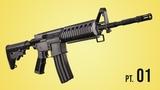 CGC Classic: Modeling a M4 Rifle - Pt. 1 (Blender 2.6)