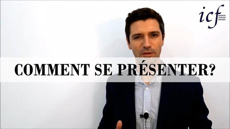 Comment se présenter en français - Cours de français