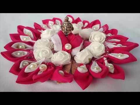 How to make Laddu Gopal Dress using handmade petals || हाथ से बनी पंखुड़ियों की पोशाक
