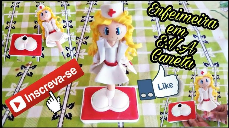 Enfermeira em E.V.A 3D - Caneta