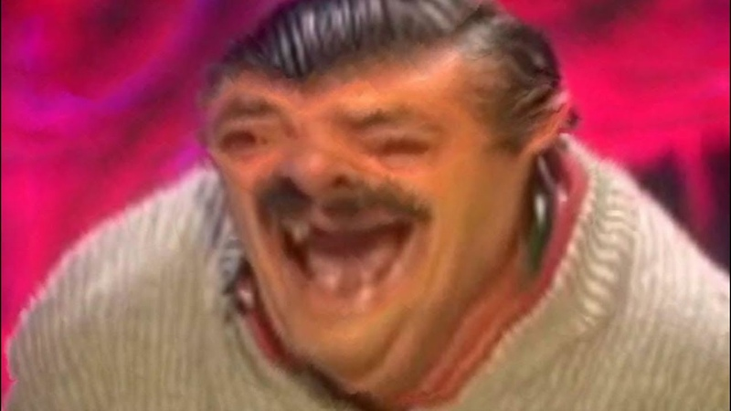 Spanish Laughing Man El Risitas Content Aware Scale