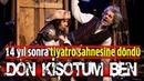 """Ozan Güven ile Günay Karacaoğlu 14 yıl sonra sahnede! Kahkaha dolu """"Don Kişot'um Ben"""""""