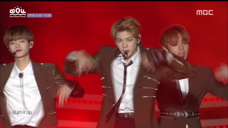 181020 Wanna One (워너원) - Burn It Up (활활)