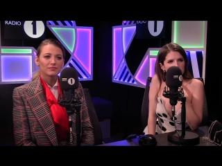 Интервью в студии радиостанции «BBC Radio 1» в Лондоне (17 сентября 2018)