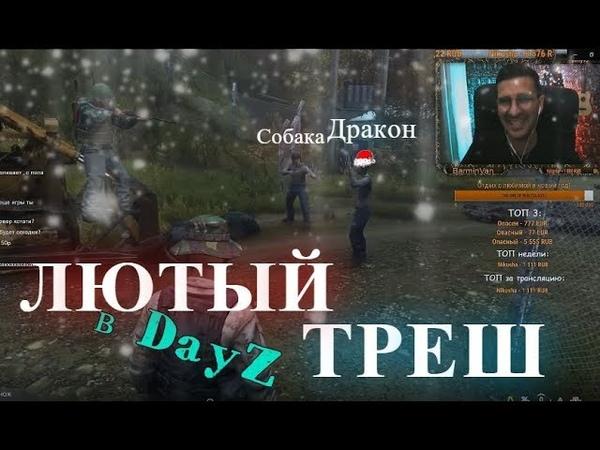 DayZ Выживаем Дейз ПОЛНЫЙ ТРЕШ Путешествие Дракона и собаки