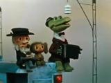Детские песни Песенка Голубой вагон из мультфильма про Чебурашку и Крокодила Гену