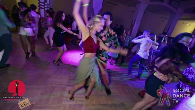Борис Эча и Светлана Малышева - Salsa social dancing at the 2018 The Third Front Salsa Festiv