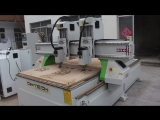 Double heads Riyadh cnc router, Saudi Arabia double heads machine, high precision wood cutting machine with 2 heads