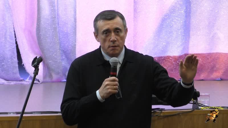 Встреча врио губернатора Сахалина Валерия Лимаренко с жителями Охинского района