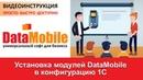 DataMobile Урок №4. Установка модулей DataMobile в конфигурацию 1С